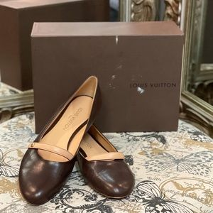 NEW WITH BOX Louis Vuitton Mary Jane Flats